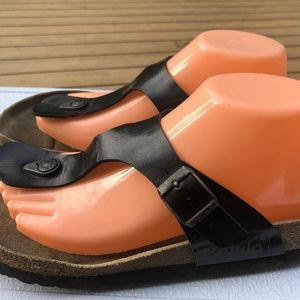 Betula Women's Black Thong Sandals Sandals